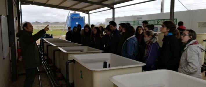 Visita alumnos Ciencias Ambientales