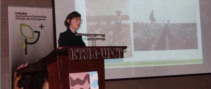 La mayor experta mundial en desnitrificación avala en la UPCT el uso de biorreactores de astillas de madera